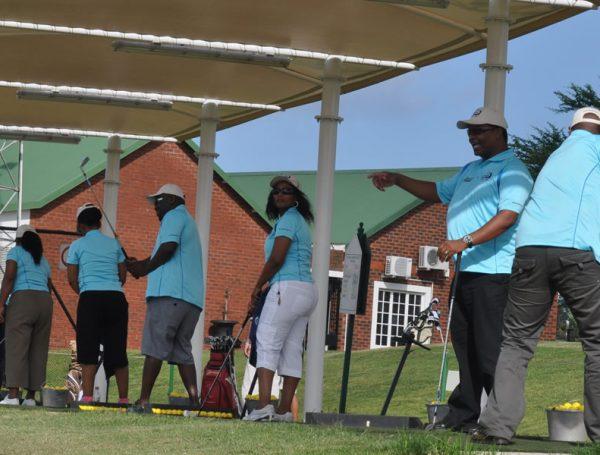 Golf Team Building