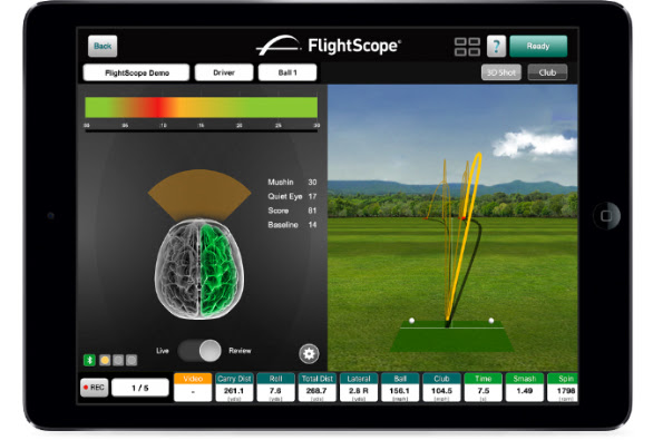flightscope tracker