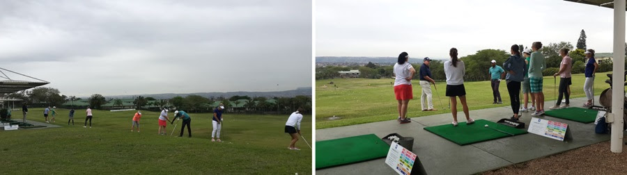 ladies golf training