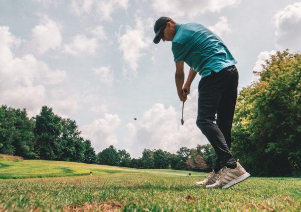 golfer swing